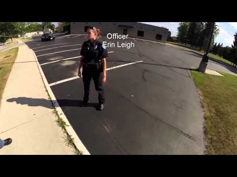 Open Carry - New Officer Doesn't Get It - New Holstein, WI