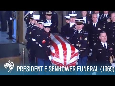 President Eisenhower: State Funeral in Washington D.C. (1969) | British Pathé