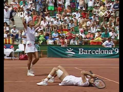 Tennis - The Best Bits | Atlanta 1996 Olympics