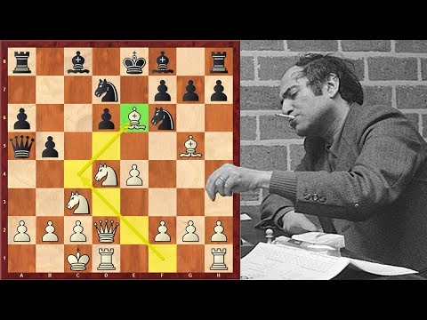 Like A Boss! Mikhail Tal Starts His Sacrifices From Move 10