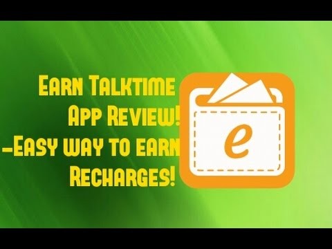 Earn Talktime App Review! -Easy way to earn free Recharges! - YouTube