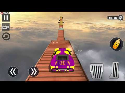 Impossible Car Stunt Game Pro 3D - Crazy Track Race - Android Gameplay FHD #2