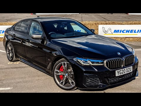 The New BMW M550i, better than the mighty M5? 1st Drive 530HP V8 xDrive