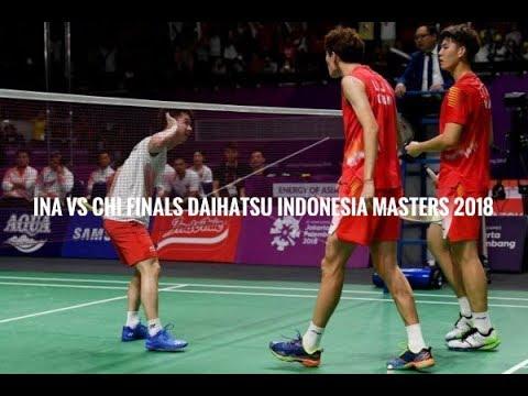 Badminton Highlights (Kevin Sanjaya/Marcus Gideon) vs (Li Jun Hui/Liu Yuchen)