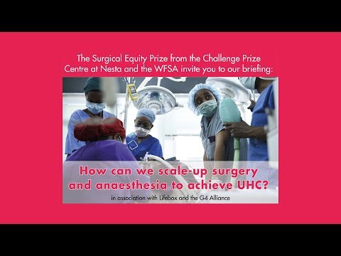 How can we scale-up surgery and anesthesia to achieve UHC?