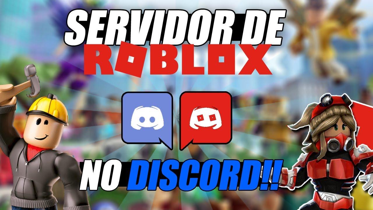 SERVIDOR de ROBLOX no DISCORD!! - Jogue com BR por call e muito mais!