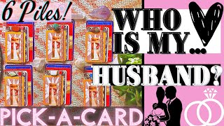🌹WHO IS MY HUSBAND? 👰WHEN WILL I MARRY? 💍 WHAT WILL MY SPOUSE BE LIKE? 💐 CAREER? AGE? ❤️ PICK-A-CARD