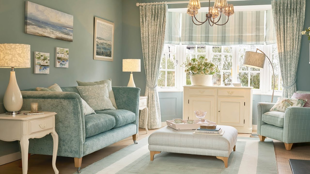 Laura Ashley Duck Egg Damask Autumn Winter 2017 Collection