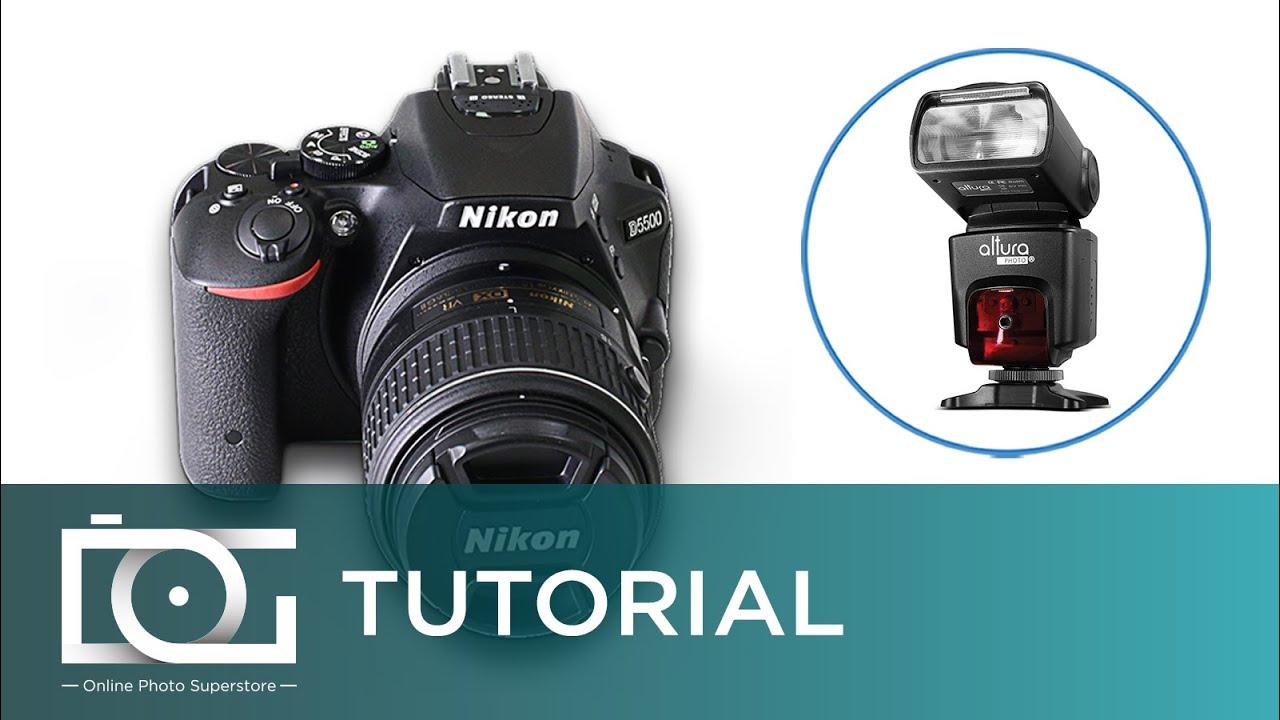 Tutorial Using The Altura Photo I Ttl Nikon Flash Nikon D5500