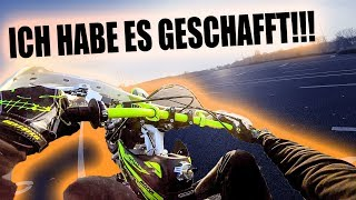 CIRCLE WHEELIES MIT DEM PITBIKE!!!