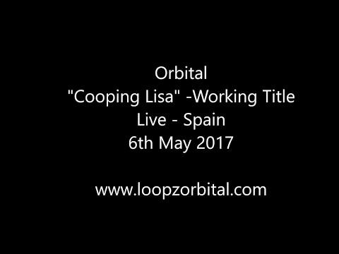 "Orbital ""Cooping Lisa"" Live at WAM (Spain - 6th May 2017)- New Track"