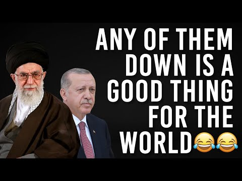 Turkey and Iran are going after each other, the world is only going to benefit from it