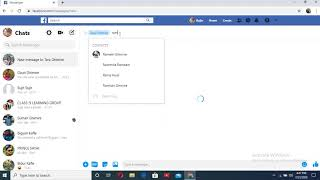 How to make  (create) group in messenger in laptop