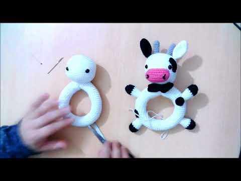 Miel Amigurumi Çıngırak Tavşan Yapımı - Örgü Modelleri | 360x480