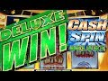 DELUXE WINS!! ★ CASH SPIN DELUXE ★ I LOVE THIS GAME! ★ BETTER THAN WHEEL OF FORTUNE! ★ LAS VEGAS