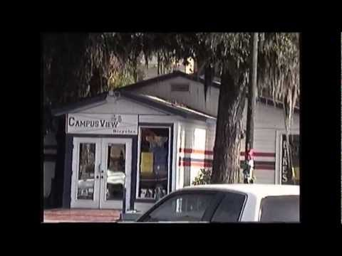 Walk around University Avenue Gainesville FL Florida 1992