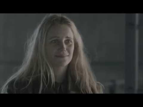 Sofia Helin as Saga & Kim Bodnia as Martin in Bron, Broen, The Bridge S1&S2 to ABBA