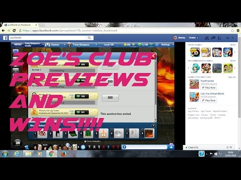 OURWORLD | ZOE'S CLUB PREVIEWS AND WINS