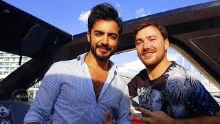Yusuf Güney ve Ruslan Ağayev İstanbul tekne röportaj