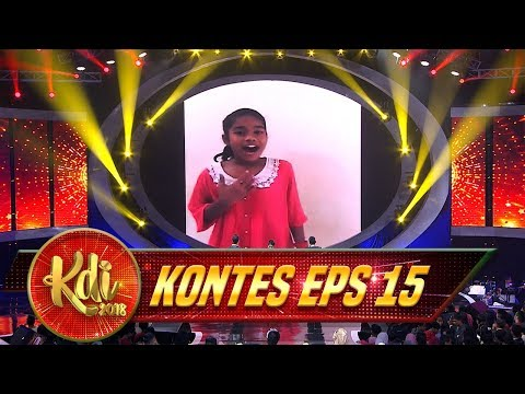 Hebat! Delima Dari Kecil Jago Nyanyi & Ayu Ting Ting Punya Goyang Gurita - Kontes KDI Eps 15 (24/8)