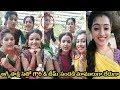 Agni Sakshi team talking With Fans On live Fun On Sets