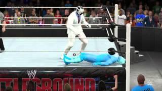 PC世界摔角娛樂WWE 2k15 - 983 - 招牌動作終結技 - 羅梅羅的特殊2[Romero Special 2]