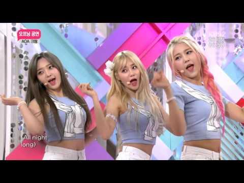 AOA Cream in 2TV Morning