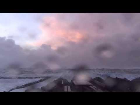 "North Atlantic Windstorm ""Egon"" lashes Denmark, Jan 10 2015"