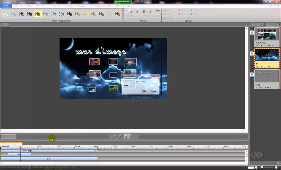 Creer Un Mur Photo tutoriel:comment créer un mur d'images (prodad heroglyph+mvd2014 premium)
