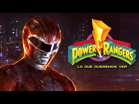 7 Cosas Que Queremos Ver en Power Rangers