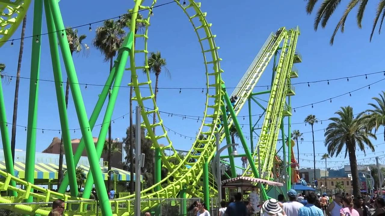 Knotts Berry Farm Rides 2018 Sidewinder Roller Coaster ... |Knotts Berry Farm Coasters