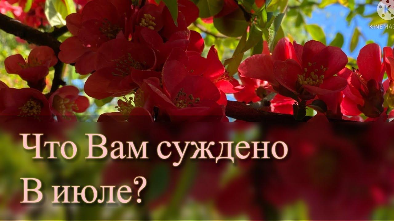 Что Вам по судьбе в ИЮЛЕ? ⛱🌞