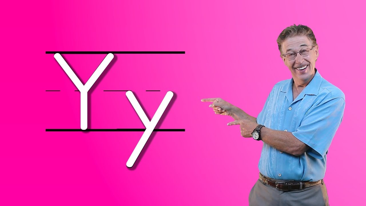 Learn The Letter Y Lets Learn About The Alphabet Phonics Song