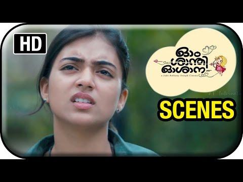 om-shanti-oshana-movie-scenes-|-nazriya-threatens-aju-varghese-|-nivin-pauly