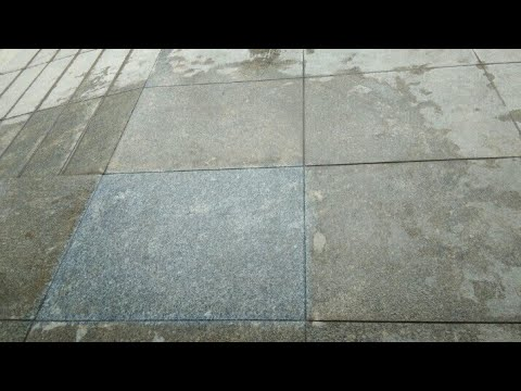 How To Clean Granite And Marble And Tiles With Acid Youtube