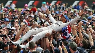 Гран-При Великобритании, Формула 1 2016 || Обзор гонки || Что за Англию без дождя и Хэмилтона