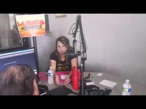 Entrevista en la radio 92.1 la buena en sacramento