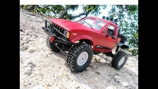 This Cheap RC Crawler Is a TON OF FUN! WPL 1/16 Mini Semi Truck Hercules