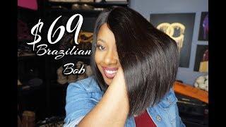 CocoBlackHair.com | $69 Brazilian Lace Virgin Hair Bob