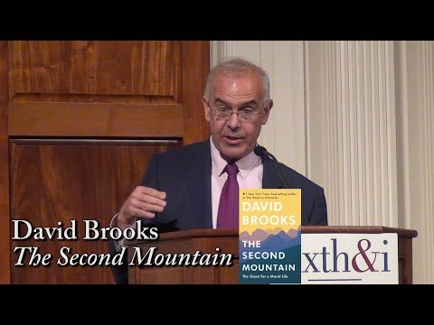 David Brooks, 'The Second Mountain'