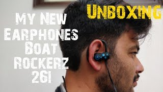 Boat Rockerz 261 Unboxing and overview