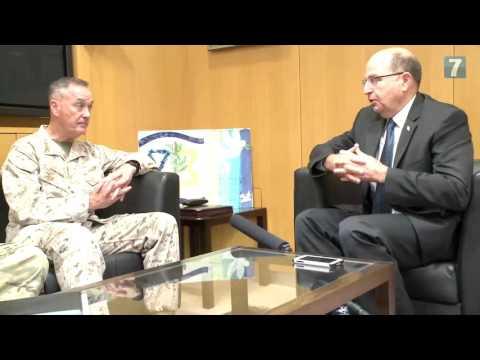 CJCS Dunford Meets Israeli Minister of Defense
