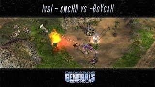 [C&C Zero Hour] cncHD vs BoYcaH