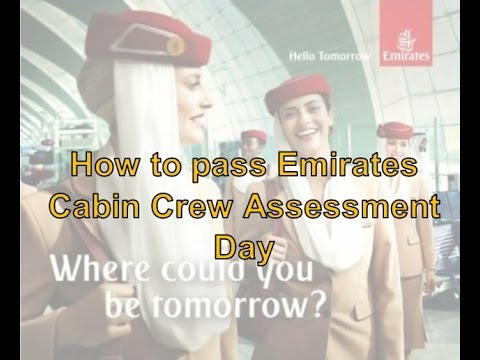 How to pass Emirates Cabin Crew Assessment Day
