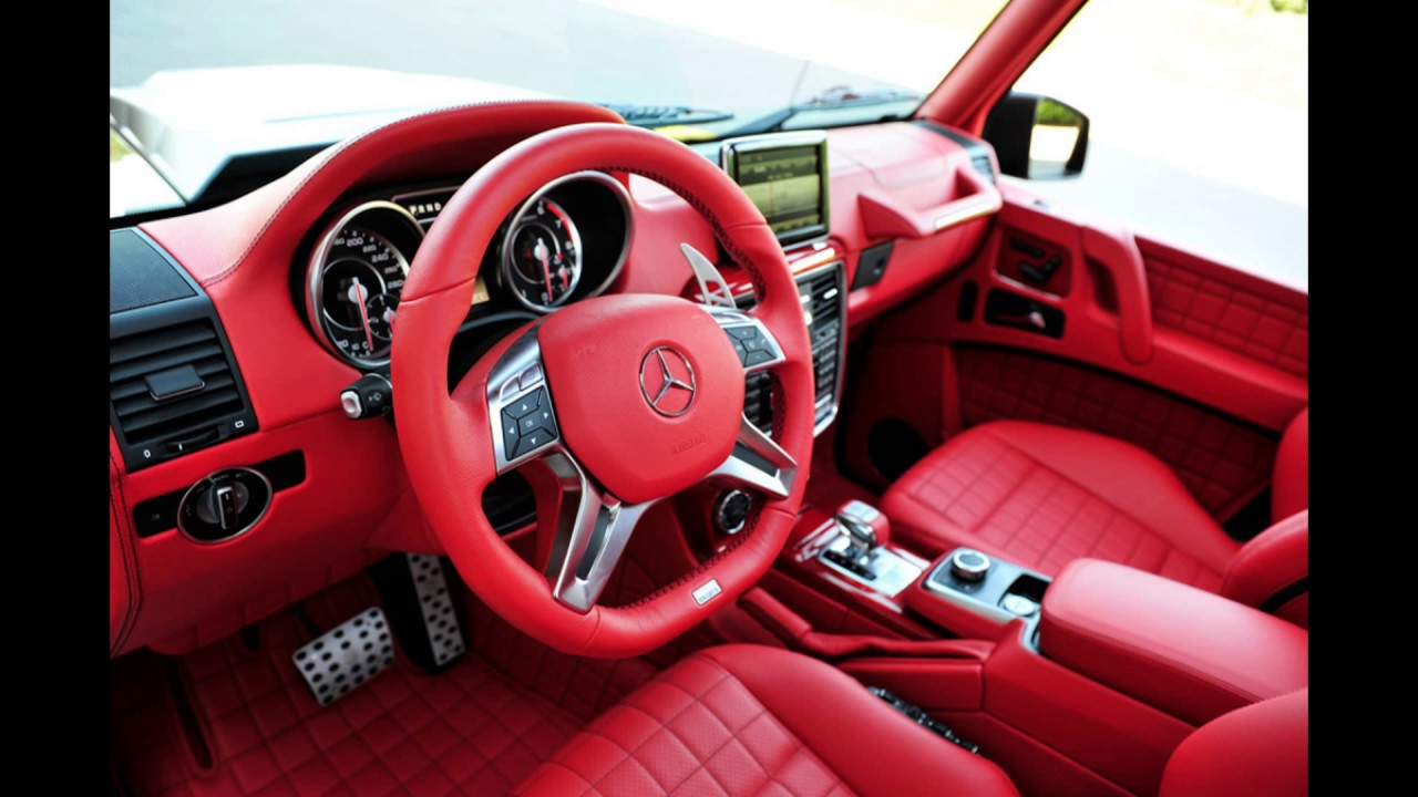 Red Concept Custom Car Interior Concepto De Color Rojo