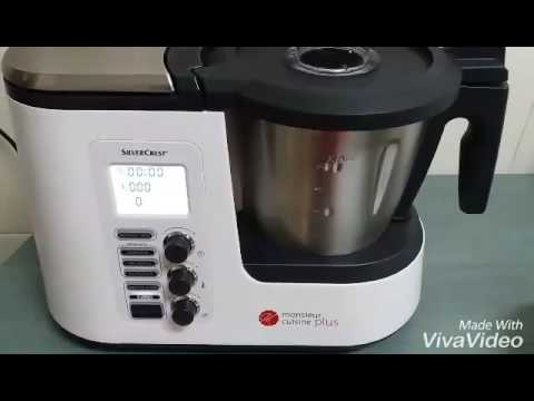Instrucciones para cocer al vapor con el robot de cocina for Robot monsieur cuisine plus