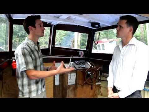 Interview with Dr Steve Simpson on-board the Withdrawn art installation