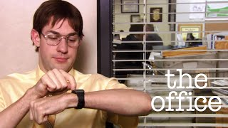 jim imitating dwight
