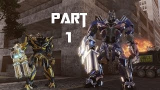 Transformers Rise of the Dark Spark Gameplay Walkthrough Part 1 - A Dark Legend Lives (PC)