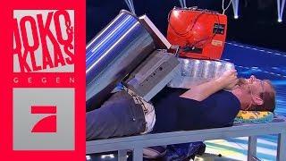 200 KILO auf Joko stapeln - Bauchstapler | Finale | Joko & Klaas gegen ProSieben